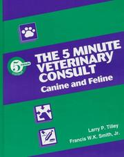 Cover of: The 5-minute veterinary consult