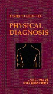 Cover of: Pocket guide to physical diagnosis | Janice L. Willms