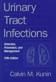 Cover of: Urinary tract infections