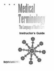 Cover of: Medical terminology | Marjorie Canfield Willis