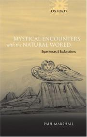 Cover of: Mystical Encounters with the Natural World | Paul Marshall