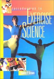 Cover of: Introduction to Exercise Science | Stanley P. Brown
