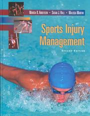 Cover of: Sports Injury Management | Marcia Anderson
