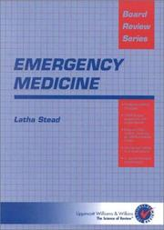 Cover of: Emergency Medicine | Latha Stead