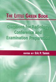 Cover of: The Little Green Book