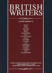Cover of: British writers. |
