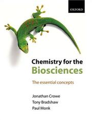 Cover of: Chemistry for the Biosciences | Tony Bradshaw