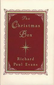 Cover of: CHRISTMAS BOX