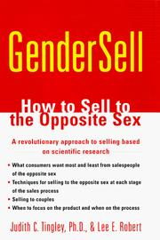 Cover of: Gendersell | Judith C. Tingley
