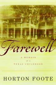Cover of: Farewell