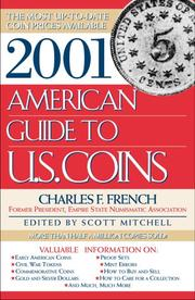 Cover of: 2001 American Guide to U.S. Coins | Charles French