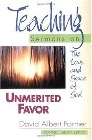 Cover of: Unmerited favor