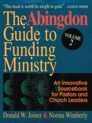 Cover of: The Abingdon Guide to Funding Ministry |