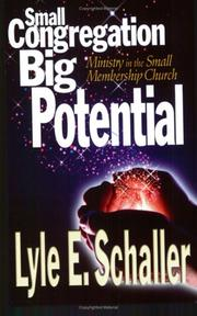 Cover of: Small Congregation, Big Potential: Ministry in the Small Membership Church