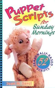 Cover of: Puppet scripts for Sunday mornings