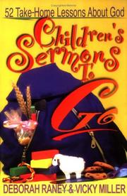 Cover of: Children's Sermons to Go: 52 Take-Home Lessons About God