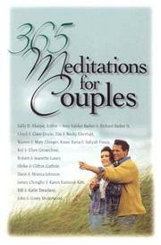 Cover of: 365 meditations for couples by