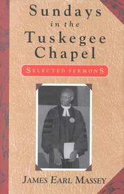 Cover of: Sundays in the Tuskegee Chapel