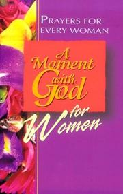 Cover of: A moment with God for women