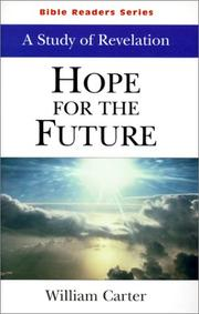 Cover of: Hope for the Future | William Carter