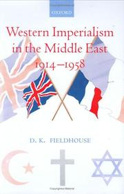 Cover of: Western imperialism in the Middle East 1914-1958