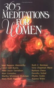 Cover of: 365 meditations for women |