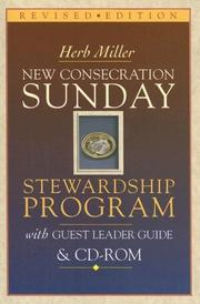 Cover of: New Consecration Sunday | Herb Miller