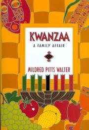 Cover of: Kwanzaa | Mildred Pitts Walter