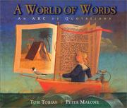 Cover of: A world of words | Tobi Tobias