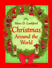 Cover of: Christmas around the world | Mary D. Lankford