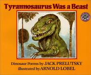 Cover of: Tyrannosaurus Was a Beast Big Book (Mulberry Big Books) | Jack Prelutsky