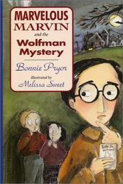 Cover of: Marvelous Marvin and the wolfman mystery