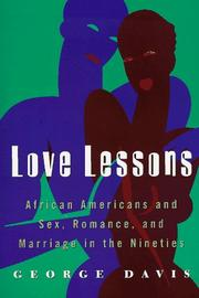 Cover of: Love lessons | Davis, George