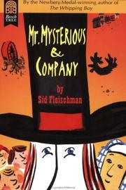 Cover of: Mr. Mysterious & Company