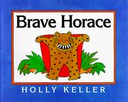 Cover of: Brave Horace