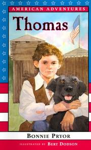 Cover of: American Adventures: Thomas (American Adventures)