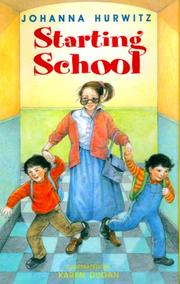 Cover of: Starting School
