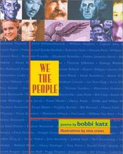 Cover of: We the people: poems
