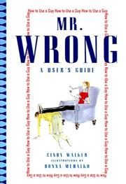 Cover of: Mr. Wrong | Cindy Walker