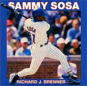 Cover of: Sammy Sosa | Richard Brenner