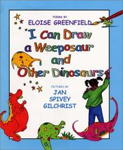 Cover of: I can draw a weeposaur and other dinosaurs: poems
