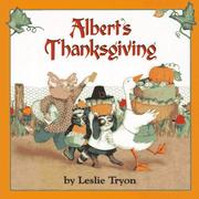 Cover of: Albert's Thanksgiving (Albert (Atheneum))