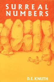 Cover of: Surreal numbers: how two ex-students turned on to pure mathematics and found total happiness : a mathematical novelette
