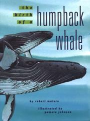 Cover of: The birth of a humpback whale