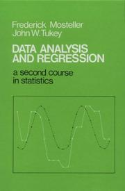 Cover of: Data analysis and regression