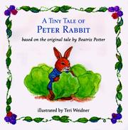 Cover of: A tiny tale of Peter Rabbit |