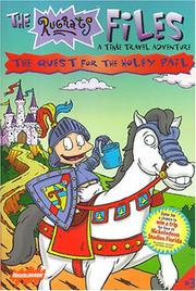Cover of: The Quest for the Holey Pail: A Time Travel Adventure (The Rugrats Files)