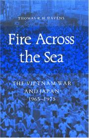 Fire across the sea by Thomas R. H. Havens