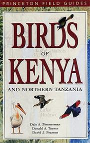 Birds of Kenya and northern Tanzania by Dale A. Zimmerman