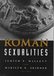 Cover of: Roman sexualities |
